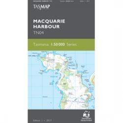 Macquarie Harbour Topographic Map