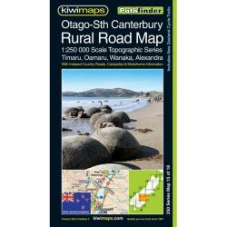 Otago-South Canterbury Rural Road Map