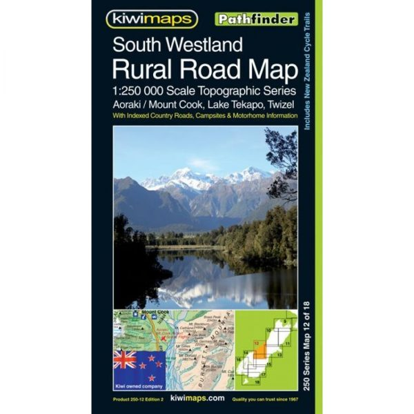 South Westland Rural Road Map