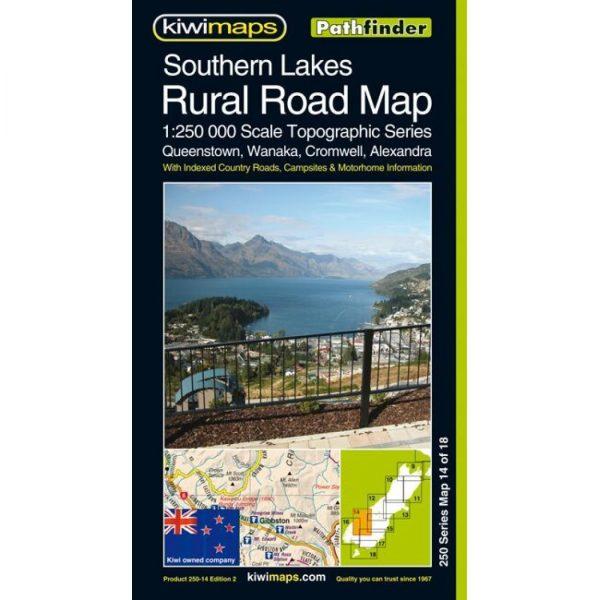 Southern Lakes Rural Road Map