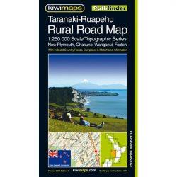 Taranaki-Ruapehu Rural Road Map