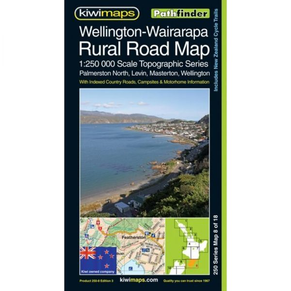 Wellington-Wairarapa Rural Road Map