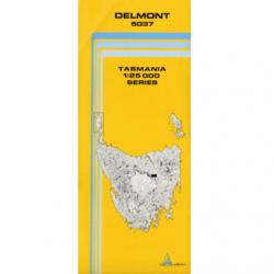 Delmont 1.25000 Topographic Map