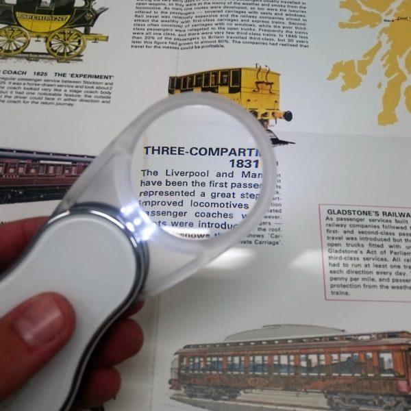 Foldout Pocket Magnifier