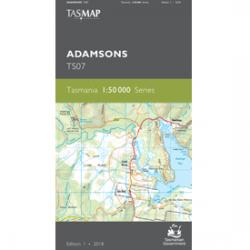Adamsons 1.50,000 Topographic Map