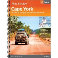 Cape York Atlas & Guide 9781876413439
