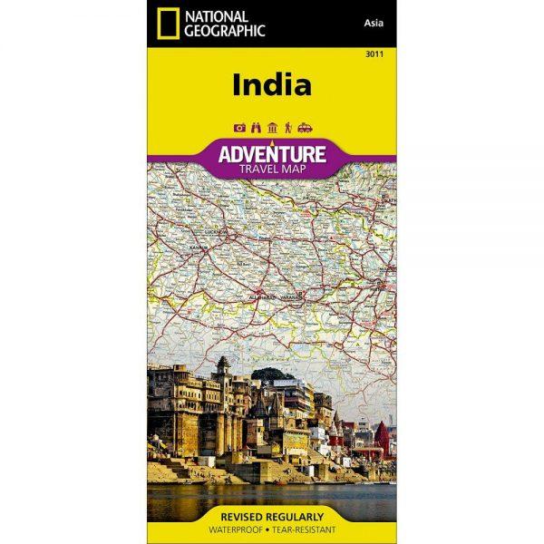 India Adventure Travel Map