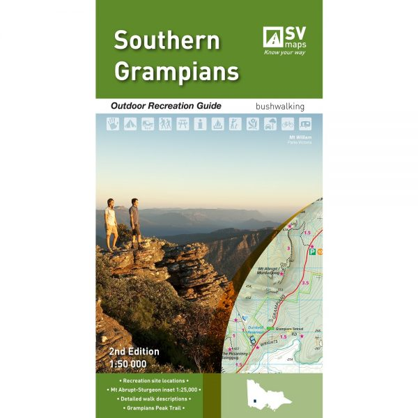 Southern Grampians Map Cover