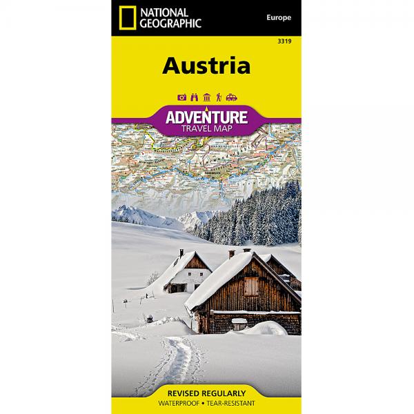 Austria Adventure Travel Map