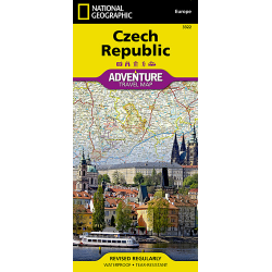 Czech Republic Adventure Travel Map