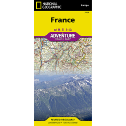 France Adventure Travel Map