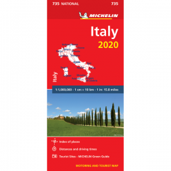 Italy Road Map 735