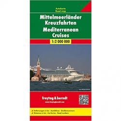 Mediterranean Cruises Map