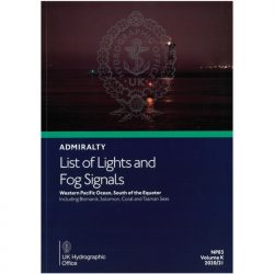 List of Lights and Fog Signals NP83 Vol K