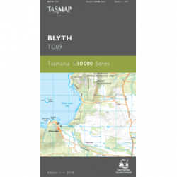 Blyth Topographic Map
