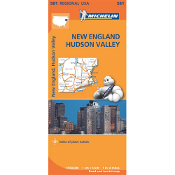 New England Hudson Valley Map 581