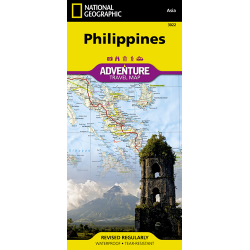 Philippines Adventure Travel Map Cover
