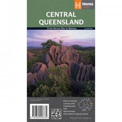 Central Queensland Map