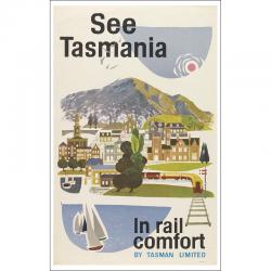 See Tasmania in Rail Comfort