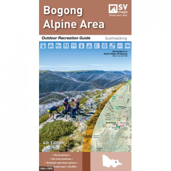 Bogong Alpine Area Map