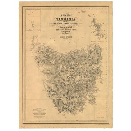 Tasmania 1859 - James Sprent