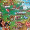 Children's Animals of the World Map