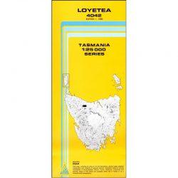 Loyetea Topographic Map