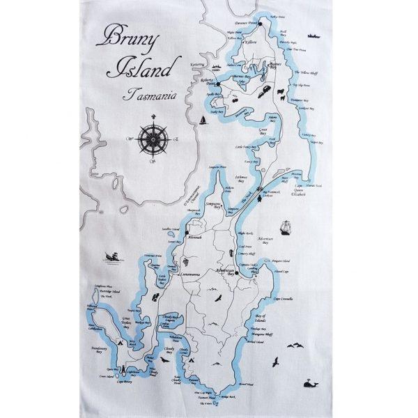 Bruny Island Tea Towel