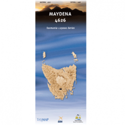 Maydena 4626 Map