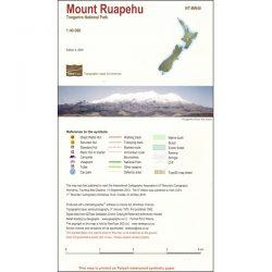 Mount Ruapehu Map