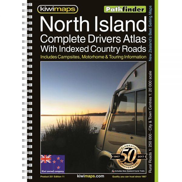 New Zealand North Island Road Atlas