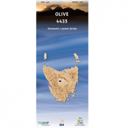 Olive Map 4435