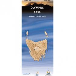 Olympus Topographic Map