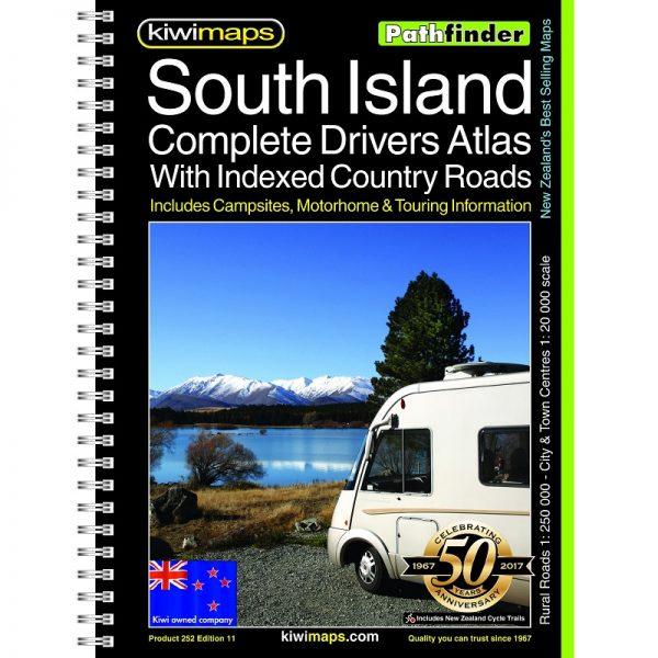 New Zealand South Island Road Atlas