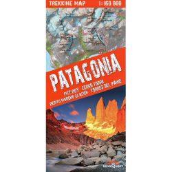 Patagonia Trekking Map