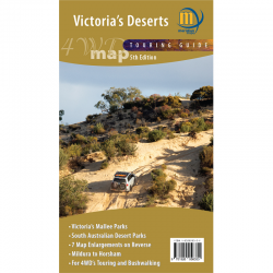 Victoria's Deserts Map and Guide
