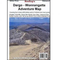 Dargo Wonnangatta Adventure Map