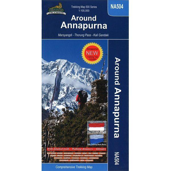 NA504 Around Annapurna Map 9789937649278