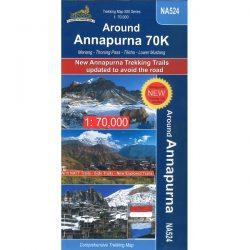 NA524 Around Annapurna Map 9789937649858