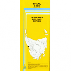 Trial Topographic Map