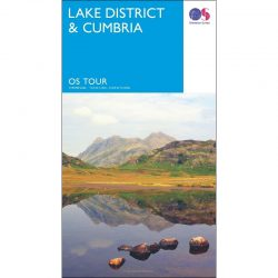 Lake District and Cumbria Map