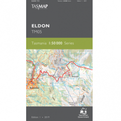 Eldon 1.50k Topographic Map Front Cover