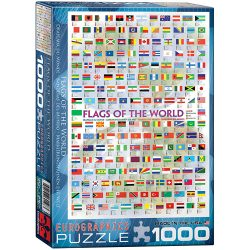 Flags of the world puzzle