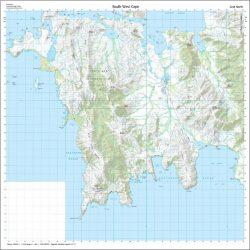 South West Cape Map