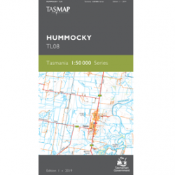Hummocky Topographic Map