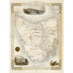 Tallis Tasmania 1854