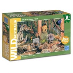 Wild Australia on the Forest Floor Puzzle