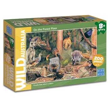 Wild Australia on the Forest Floor Puzzle