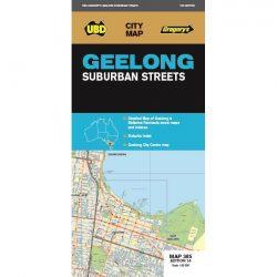 Geelong Suburban Streets Map 385