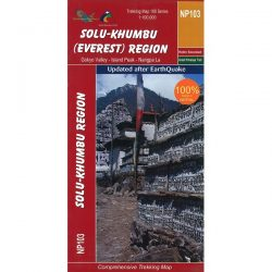 NP103 Solu-Khumbu/Everest Region Trekking Map, Nepal
